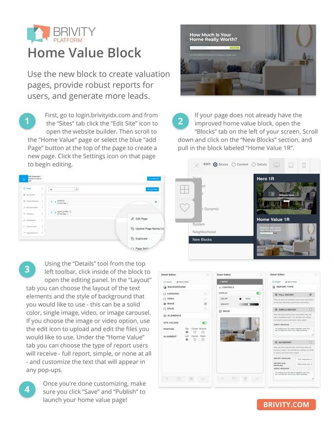 Brivity Home Value Block Options-1