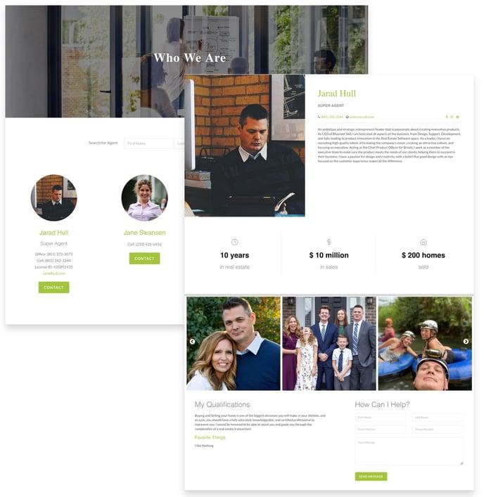 Custom Agent Page