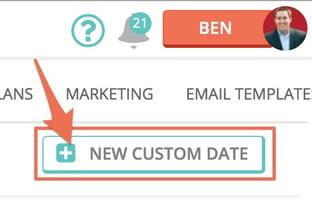 New Custom Date